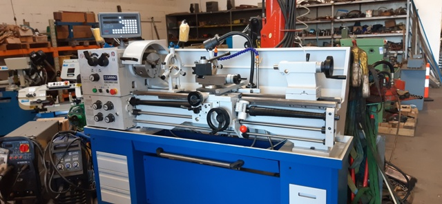 Lathe Cammac CO636N/1000 New $8,450+gst single phase 2hp, 52mm spindle, 360swing (480 in gap) 1000mm between centres, DRO coolant pump, light, foot brake, steadies