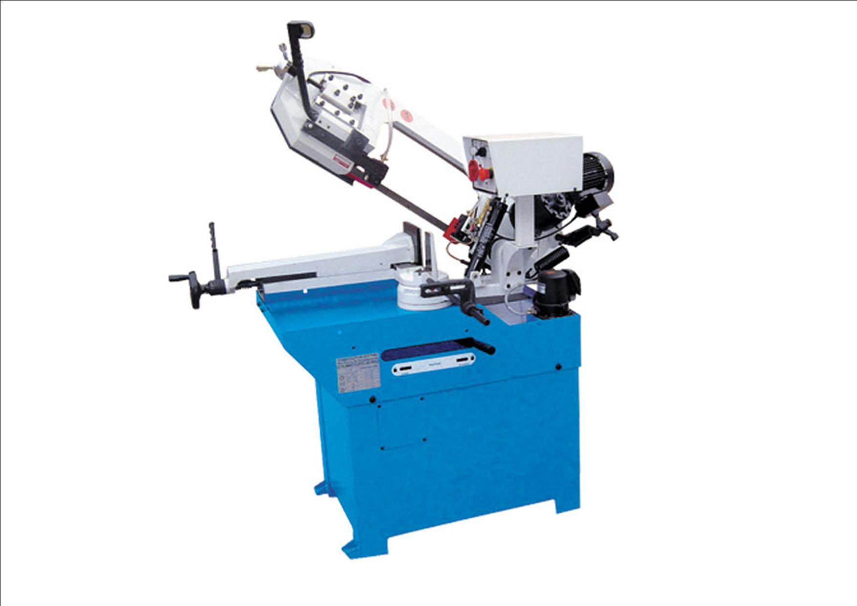 Bandsaw metal cutting  BS260G, mitre cutting , cutting cap 225mm round