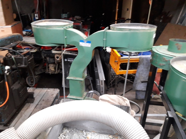 Dust Extractor 2 up 2 down 5hp 3 phase