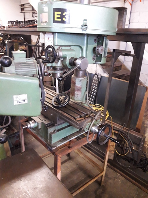 Drill mill RF30 Long Chang 3 phase