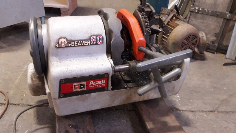 Pipe threader Asada AT80 1/2-3