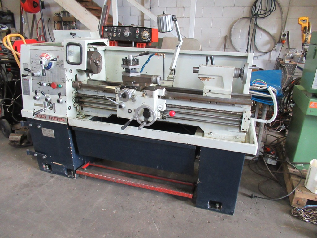Lathe Jessey Studturn (Taiwan)360mm swing 1000 between centres, 42 spindle, 3 phase, quality machine in very tidy condition