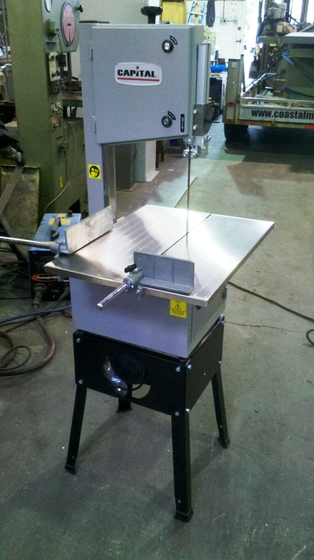 Bandsaw Meat cutting single phase with mincer New